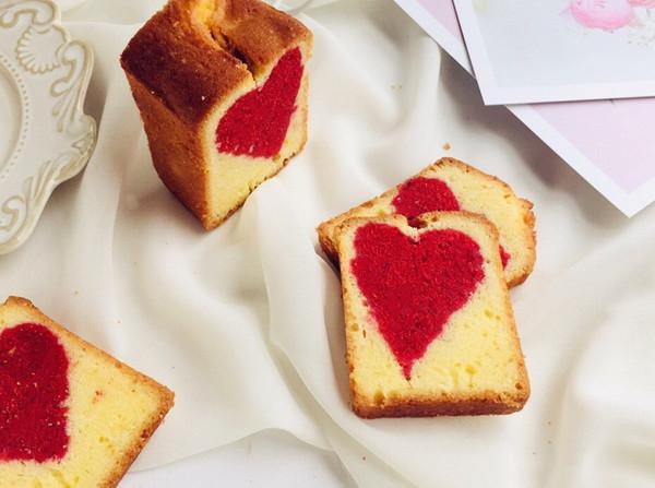 爱心磅蛋糕的做法