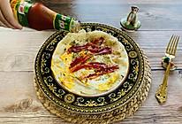 元气满满的早餐~海苔鸡蛋手抓饼的做法