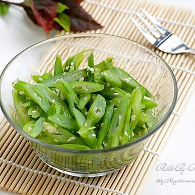 清肠必备的芝香四季豆