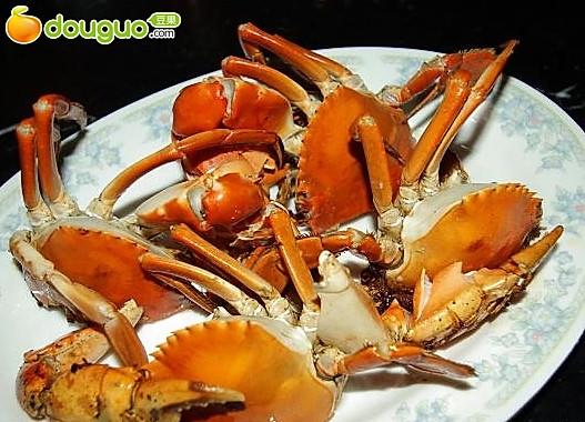 煎青蟹的做法