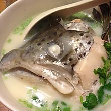 三文鱼头汤
