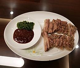 清煮羊肉两吃的做法