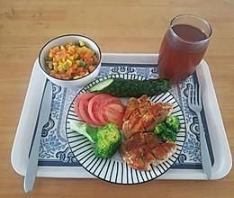 减肥鸡排套餐,饱腹又好吃的做法