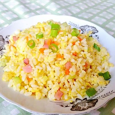 黄金蛋炒饭(全蛋预拌法)