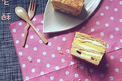 浪漫之都之经典甜点【拿破仑酥】#甜蜜厨神#