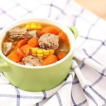迷迭香:排骨玉米胡萝卜汤