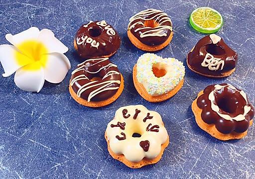 巧克力甜甜圈海绵蛋糕的做法