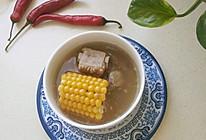 玉米排骨冬瓜汤的做法