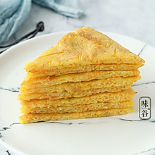 南瓜胡萝卜蛋饼