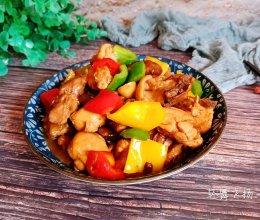 家常彩椒炒鸡,好吃到汤汁都不剩!的做法