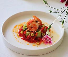 #夏日消暑,非它莫属#《泰式香椒油柠檬虾拌黄瓜》的做法