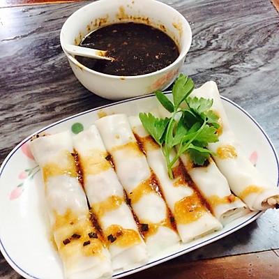 潮州经典小吃——粿条卷