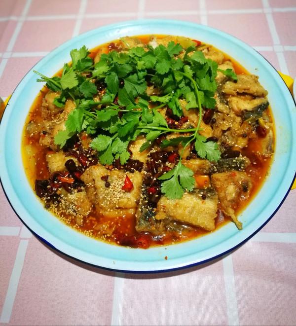 家常多味鱼 泡椒和香辣的结合的做法
