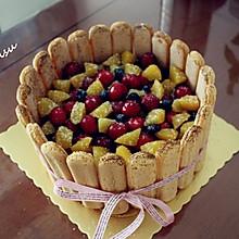 果缤纷提拉米苏蛋糕
