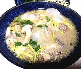 秋日羊排汤的做法