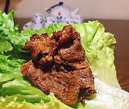 #夏日撩人滋味#平底锅韩式烤牛肉的做法