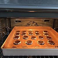 #父亲节,给老爸做道菜#巧克力椰子曲奇的做法图解12