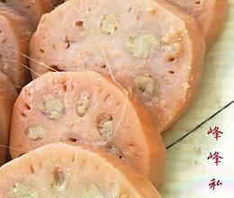 绿豆仁酿莲藕的做法