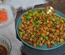 蔬菜鹰嘴豆沙拉的做法