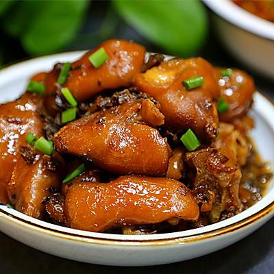 梅干菜烧猪蹄