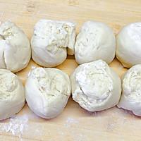 #一道菜表白豆果美食#手工馒头的做法图解7