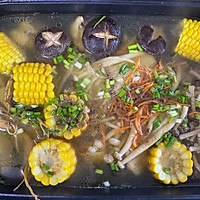 菌菇鸡汤面的做法图解12