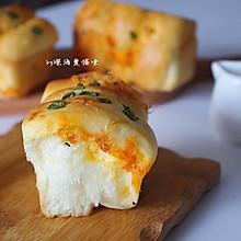 香葱手撕肉松包#洁柔食刻,纸为爱下厨#