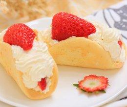 草莓蛋糕卷—迷迭香的做法