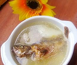 淮山小红斑鱼汤的做法