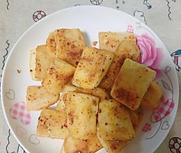 平底锅版烧烤味年糕的做法