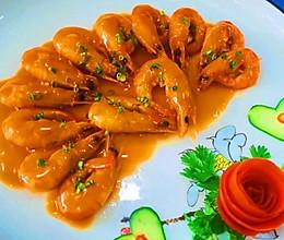 油焖基围虾的做法