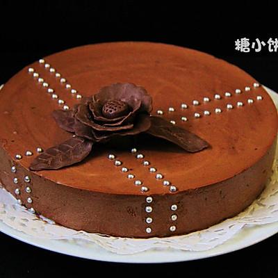 【树莓酱巧克力慕斯】