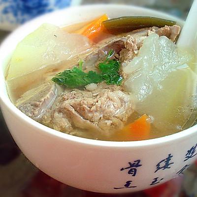 冬瓜脊骨汤