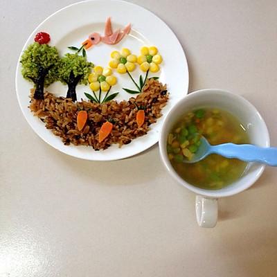 宝宝食谱:春天来了~