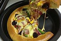 培根披萨  两个的量,自制披萨饼皮+披萨酱 (一)的做法