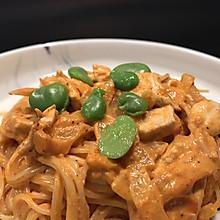 烤番茄酱 鸡肉意面pasta 适合中国胃的你
