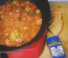 俄式红汤(苏伯汤)的做法
