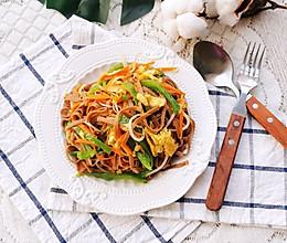 #今天吃什么#杂蔬炒面的做法