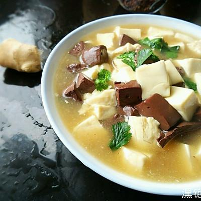 排毒养颜【红白豆腐】