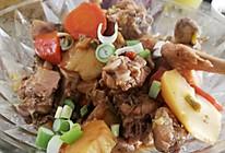 小鸡炖胡萝卜土豆的做法