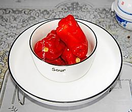 #换着花样吃早餐#酸辣椒的做法