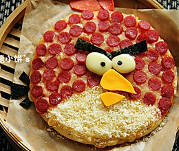 【愤怒的小鸟披萨】的做法