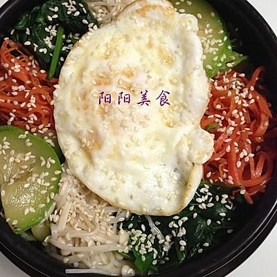 PK韩式料理——石锅拌饭