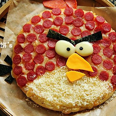 【愤怒的小鸟披萨】