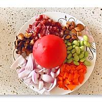网红西红柿饭的做法图解1