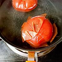 西红柿打卤面的做法图解3