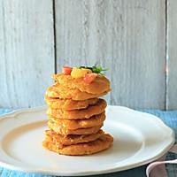 南瓜豆渣饼-将豆渣打造成色彩与味道的双重盛宴