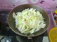 圆白菜炒粉条的做法图解6