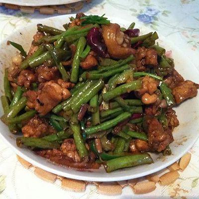 鸡翅炒豆角