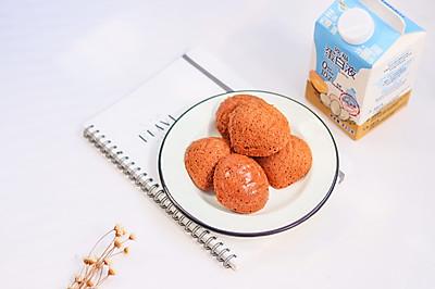 像栗子却不是栗子,咖啡味浓又有嚼劲的蛋白小蛋糕